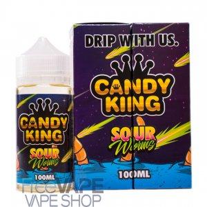 Жидкость для электронных парогенераторов Candy King Sour Worms 100 мл.