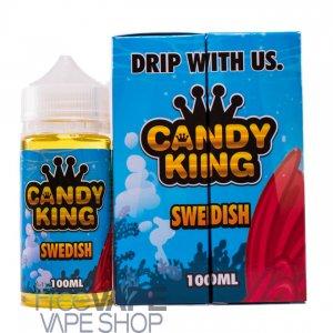 Жидкость для электронных парогенераторов Candy King Swedish 100 мл.