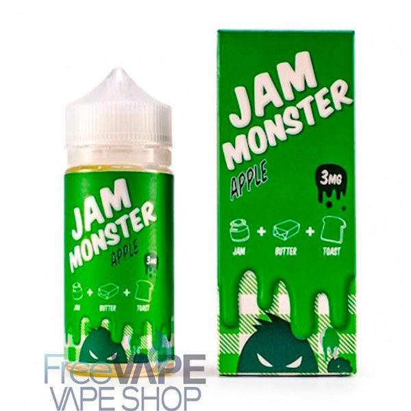 Жидкость Jam Monster Apple.