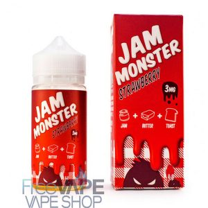 Жидкость Jam Monster Strawberry.