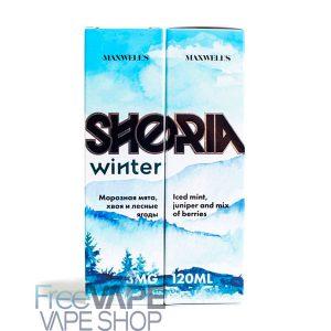 Жидкость для электронных парогенераторов Maxwells Shoria Winter.