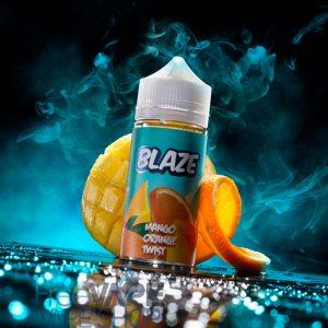 Жидкость для вейпа BLAZE Mango Orange Twist.