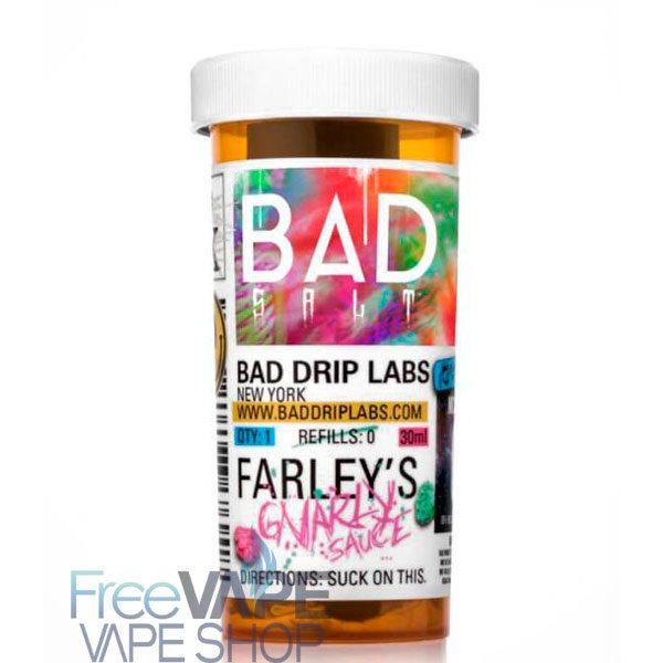 Жидкость для вейпа Bad Drip SALT Farley's Gnarly.