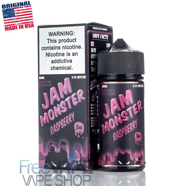Жидкость Jam Monster Raspberry.